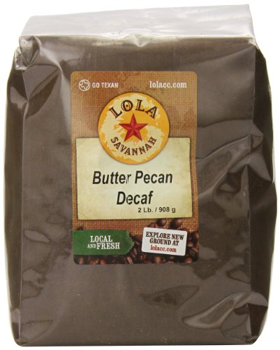 Butter Pecan, Ground, Decaf, 2 (Butter Pecan Flavored Decaf Coffee)