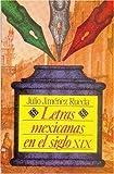 Letras Mexicanas en el Siglo XIX, Julio Jiménez Rueda, 9681632192