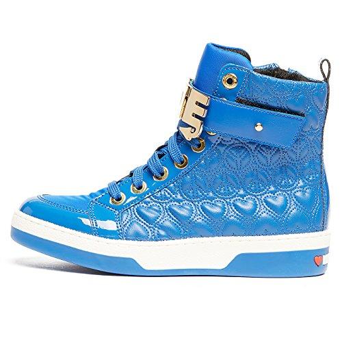 PACEBLUETTE CUORI Moschino Love Damen Sneaker q1ISX7