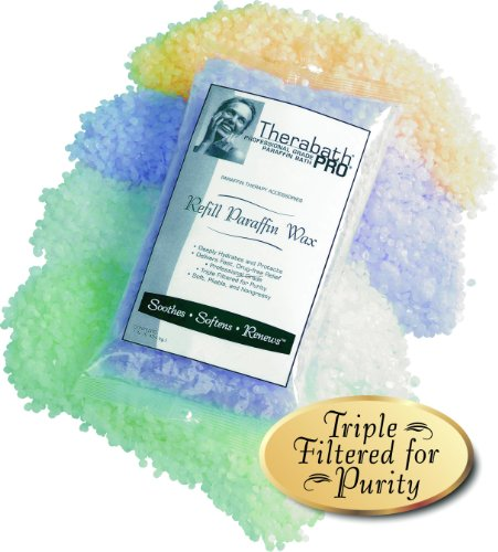 Therabath Therapeutic Refill Paraffin Wax, Scent-Free and Colorant-Free by Therabath