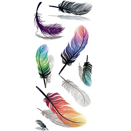 American Indian Feather Tattoos Designs