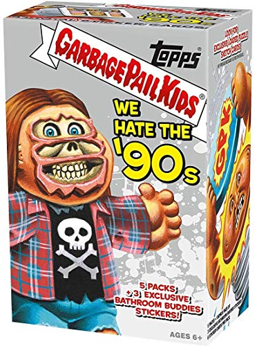 Garbage Pail Kids We Hate The '90s Trading Sticker Cards Retail Blaster Box