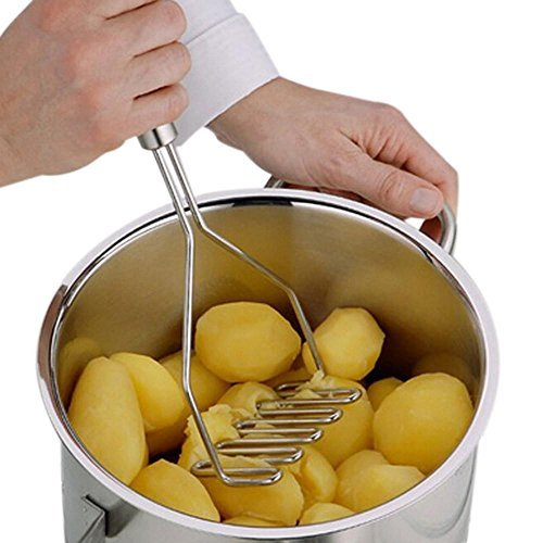 Potato Mashers FTXJ Stainless Steel Wave Shape Masher Tool
