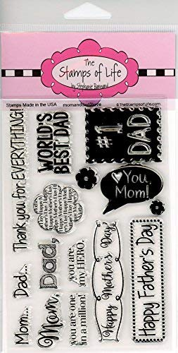 ers Day Stamps for Card-Making and Scrapbooking by The Stamps of Life - MomAndDad2Love ()