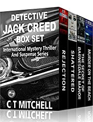 Detective Jack Creed Box Set: Mystery Novellas Volumes 1 - 4 (International Mystery Thriller and Suspense)