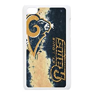 Ipod Touch 4 Phone Case Football NFL St. Louis Rams Personalized Cover Cell Phone Cases GHX438874
