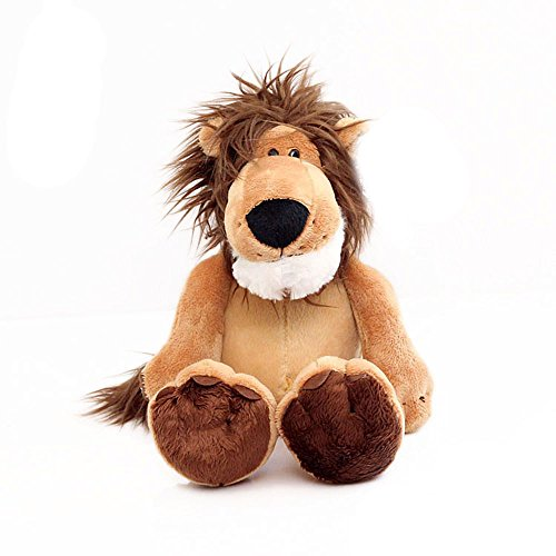 COFFLED Animal King Cartoon Lion Stuffed Plush Toy for Baby Nursery Decoration; Soft Premium Baby Bedtime Dolls for Shower Christmas Birthday Gift ()