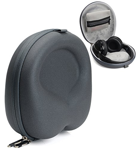Gray Case for Jabra Move, Beats EP, Studio, Mpow 059, H1, Samsung Level On, Acekool, Dylan, iFecco, Picun P7, BestGot, Sound Intone CX-05, Leesentec T1, Skullcandy Hesh, Hesh 2, Grind, Uproar -