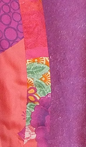 Desigual–Albornoz Bata Modelo Bathrobe Patch 2Face, multicolor, medium multicolor