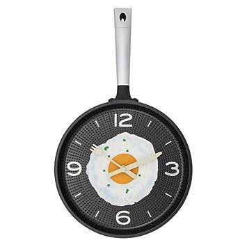 Sucastle Creativo, sartenes, relojes tortilla, pared, cocina, comedor, bar,