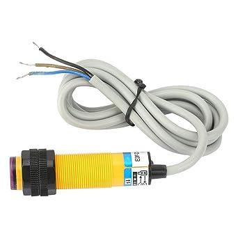 Sensore di rilevamento fotoelettrico a infrarossi regolabile con sensore di