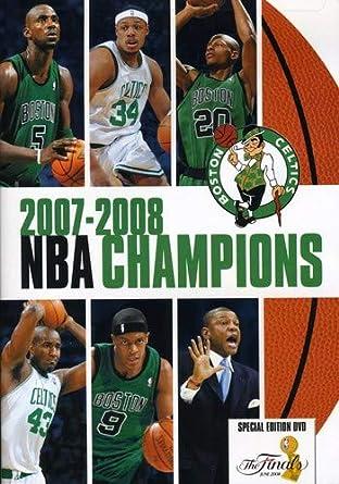 Amazon.com: 2007-2008 NBA Champions: Boston Celtics: Doc Rivers ...