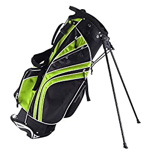 TANGKULA Golf Stand Bag w/6 Way Divider Carry Organizer Pockets Storage