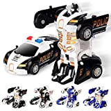 Toys : Bifast Children Mini Deformation Car Robot Toys Vehicle