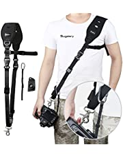 Sugelary Camera Strap Rapid Quick Release Shoulder Sling Camera Strap Belt for Canon Nikon Sony Fujifilm Olympus DSLR SLR (F-2)