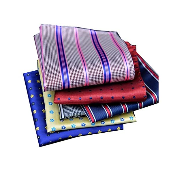 COCOUSM-Fashion-Poly-Silky-Pocket-Square-Suits-Hankies-for-Men