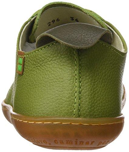 El Naturalista N296 Soft Grain El Viajero, Zapatos de Cordones Derby Unisex Adulto Verde (Green)