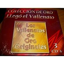 Los Vallenatos De Oro Originales - Coleccion De Oro