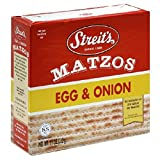 Streits Matzo Egg Onion