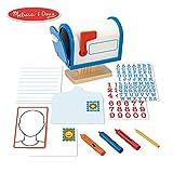Melissa & Doug My Own Mailbox Wooden Activity Set (Pretend Toy Mailbox)