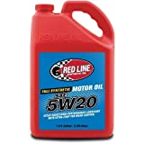 Red Line 15205-4PK 5W20 Motor Oil, 1 gallon, 4 Pack