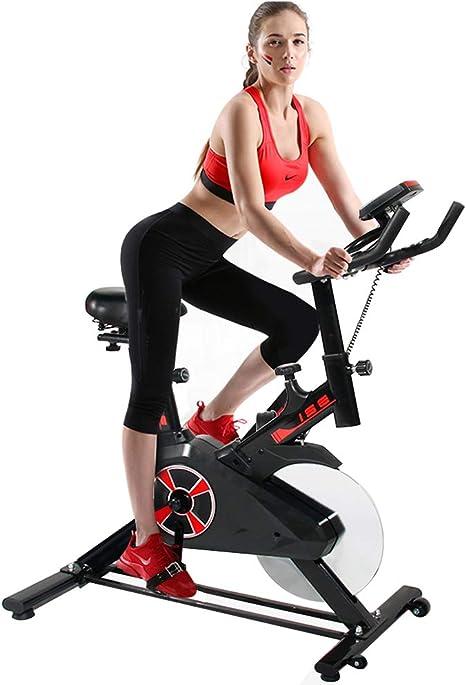 DlandHome Bicicleta de Spinning Profesional con Pantalla LCD ...