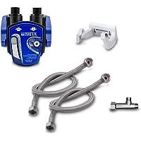 Ondertafel-waterfilter: BRITA filterkop voor BRITA filter P1000 incl. flexibele slang, hoekventiel adapter