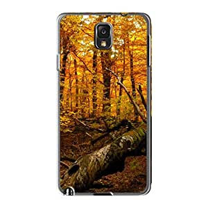 New Arrival Case Cover With KKF1737jDbf Design For Galaxy Note 3- Autumn Forest