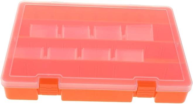 non-brand Joyería Componentes Electrónicos Recipiente Pequeño Caja De Plástico 23 Rejillas: Amazon.es: Electrónica