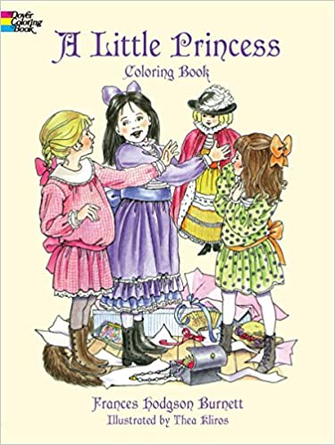 A Little Princess Coloring Book (Dover Coloring Books): Frances ...