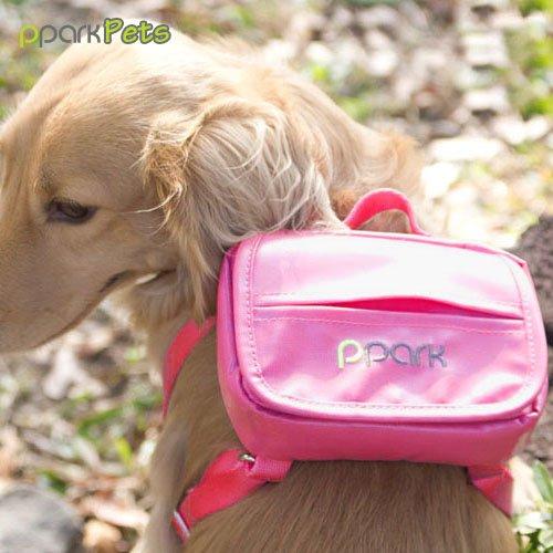 [해외]개 배낭 - 핑크 - 작음/Dog Backpack - Pink - Small