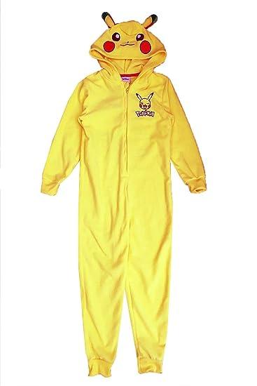 Pikachu - Pijama de una Pieza - Relaxed - para niño Amarillo ...