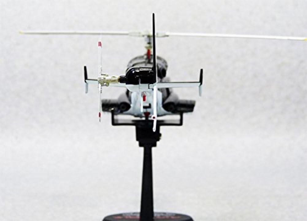 Aoshima Airwolf 1//48 scale diecast model metallic black