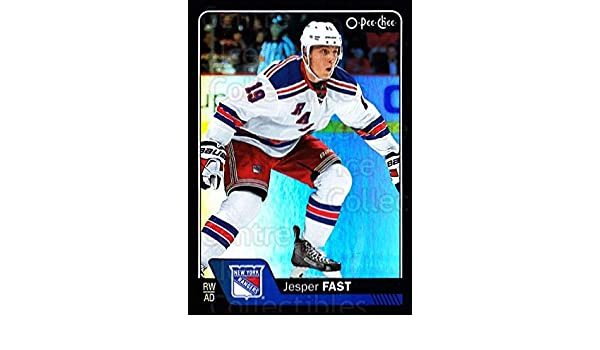 039740b1b Amazon.com  (CI) Jesper Fast Hockey Card 2016-17 O-Pee-Chee Rainbow Black  422 Jesper Fast  Collectibles   Fine Art