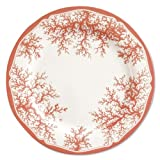 Coral Melamine Plates