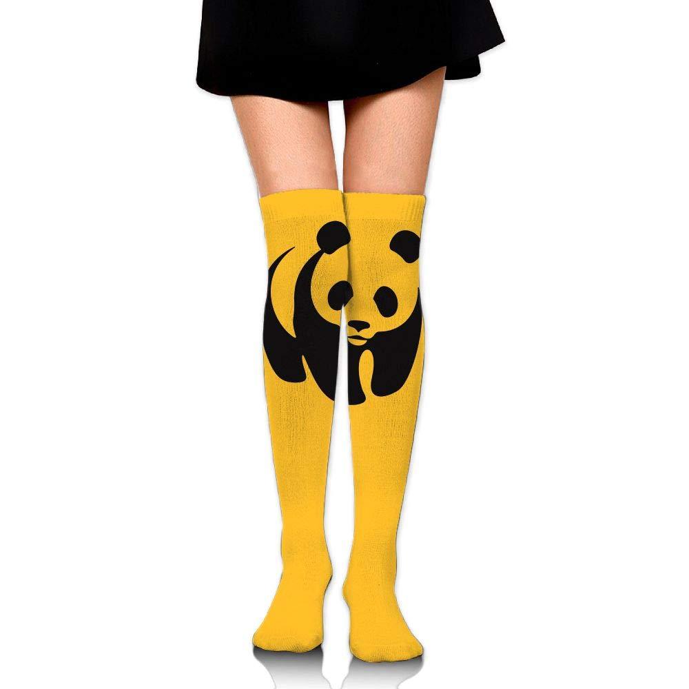 High Elasticity Girl Cotton Knee High Socks Uniform Panda Women Tube Socks