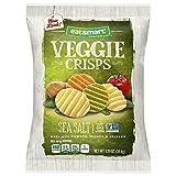 Eatsmart Snacks Sea Salt Garden Veggie Crisps, 1.25 Ounce (Pack of 8)