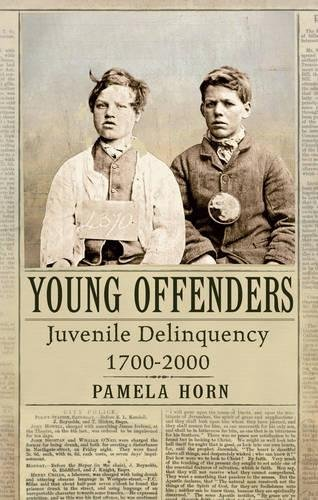 Read Online Young Offenders: Juvenile Delinquency from 1700 to 2000 PDF