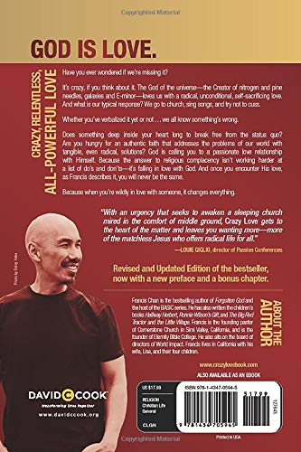 Crazy Love Overwhelmed By A Relentless God By Francis Chan