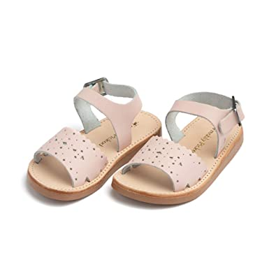 the latest 55af1 764ba Freshly Picked - Laguna Baby Girl Leather Sandals - Size 3 Blush Pink