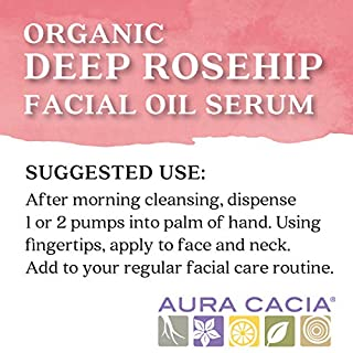 Aura Cacia - Rosehip Restoring Serum   Organic Facial Care   1 fl. oz.