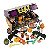 Deluxe Halloween Treasure Chest Toy Assortment - Party Favors & Party Assortments