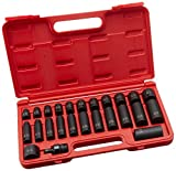 Sunex 3325 3/8-Inch Drive SAE Master Impact Socket Set, Standard/Deep, 6-Point, Cr-Mo, 5/16-Inch - 1-Inch, 25-Piece