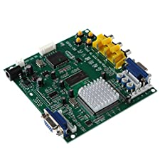 MagiDeal Arcade Game RGB CGA EGA YUV to VGA HD Video Converter Board HD9800 GBS8200 for CRT LCD PDP Monitor