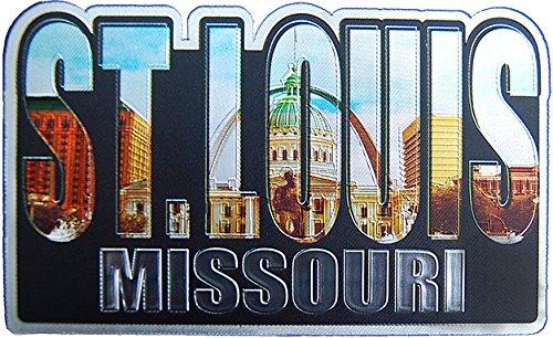 St. Louis Missouri Refrigerator Photo Magnet