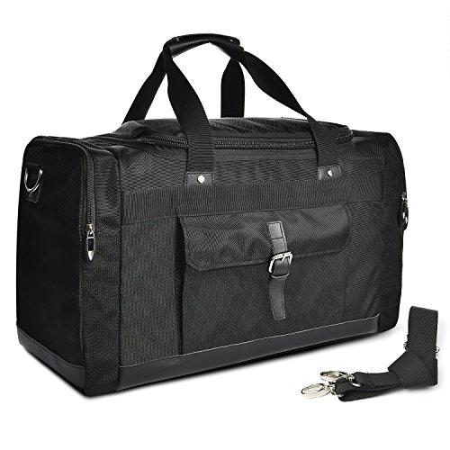 LUXUR 55L Travel Duffel Bag Water Resistant Oversized Hiking