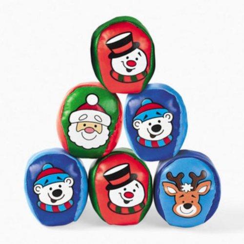 Christmas Character Kick Balls (Pack of 12) -