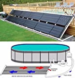 Garden&Park Above Ground Pool Solar Heater 48' x 20' 80 Sq Ft Inground