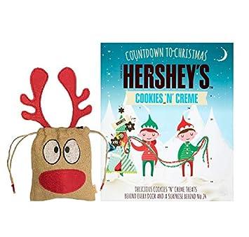Amazon Com New Hershey S Cookies N Creme Advent Calendar 208g