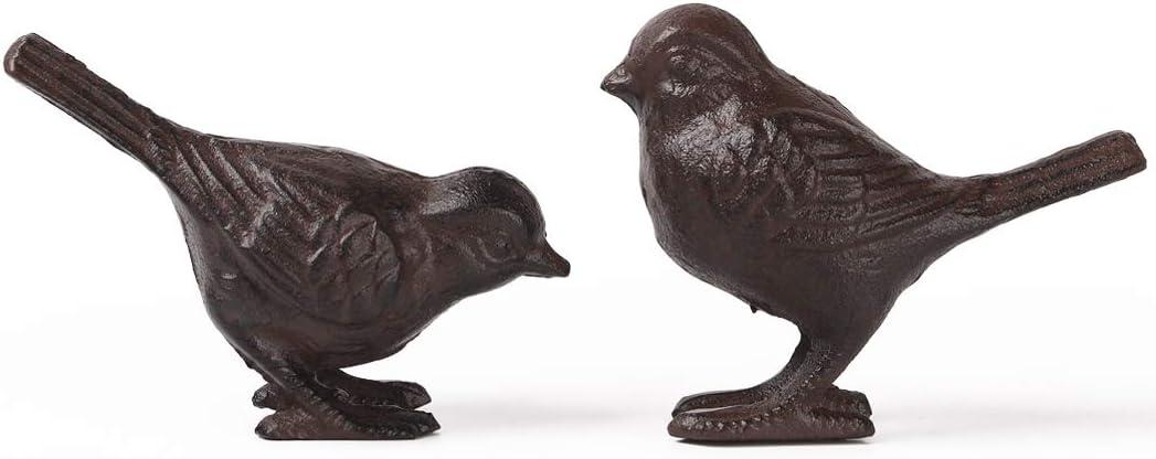 Rustic Cast Iron Bird Special Campaign Statue Home Decor Complete Free Shipping Collect Farmhouse Garden